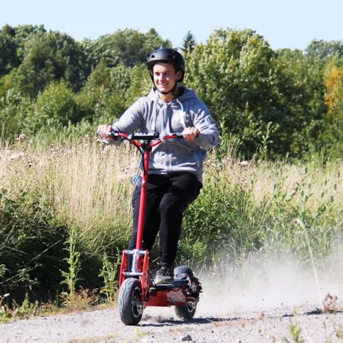 Elscooter 2000W 60V Race - Vit