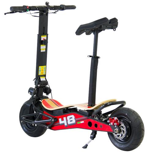 Elscooter Velocifero Minimad 800W lithium - Röd