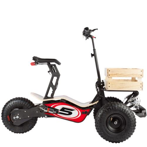 Elscooter Velocifero Mad Truck 1600W - Röd