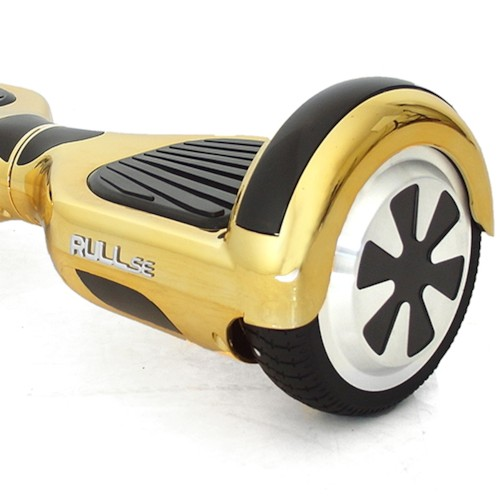 Hoverboard AirBoard PRO UL 2x350W - Guld chrome