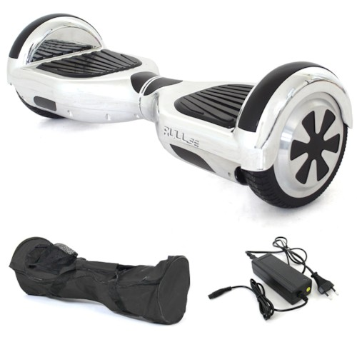 Hoverboard AirBoard PRO iFlow edition - Silver Chrome