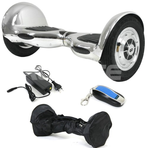 Hoverboard Airboard XL PRO 10 tum 2x350W - Chrome