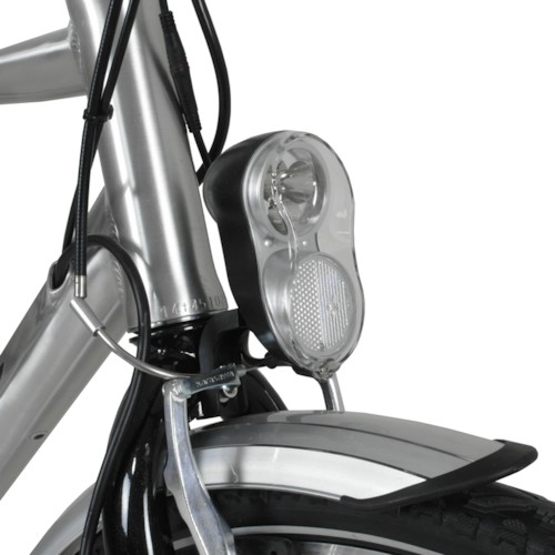 Elcykel Evobike ECO-3 250W 2015-2016 - SILVER, herr