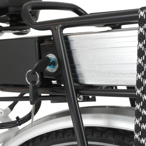 Elcykel Evobike ECO-7 500W 2014-2016 - SVART, Herr