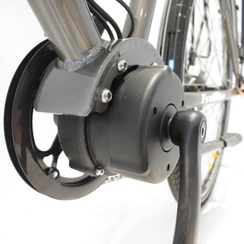 Elcykel EvoBike Swift - Granitgrå