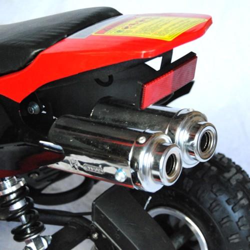 ATV 49cc Bensin, Röd