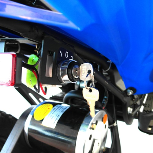 Elektrisk Mini ATV, VIPER II, 800W - Röd