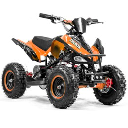 Elektrisk Mini ATV, Nitrox VIPER V4, 800W - Orange/svart
