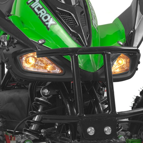 Elektrisk Mini ATV, Nitrox VIPER V4, 800W - Grön/svart