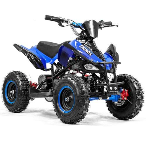Elektrisk Mini ATV, Nitrox VIPER V4, 800W - Blå/svart