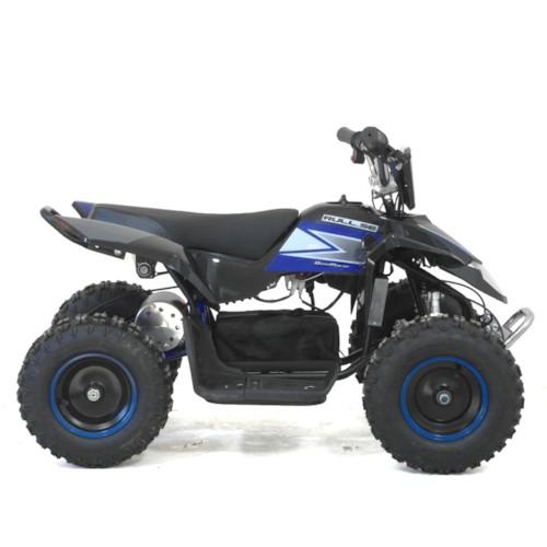 Elektrisk Mini ATV Cobra, 1000W - Svart/Blå