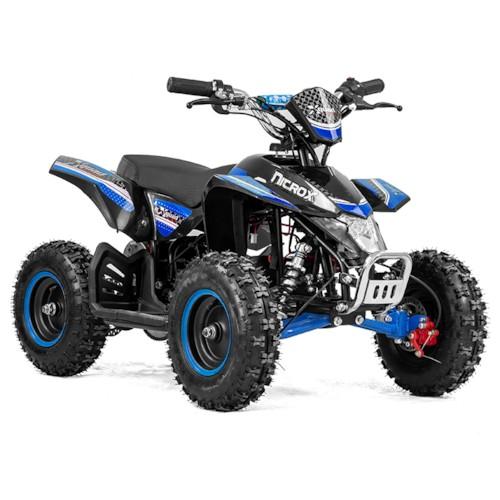 Elektrisk Mini ATV Nitrox Cobra V2 1000W - Blå/svart