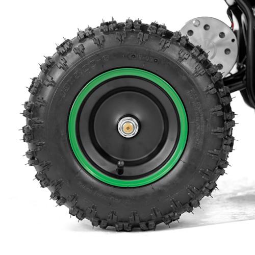 Elektrisk Mini ATV Nitrox Cobra V2 1000W - Grön/svart
