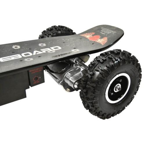 Elskateboard 800 W - BLACK OFF-ROAD