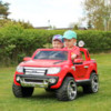 Elbil Ford Ranger Premium 12V - Vit