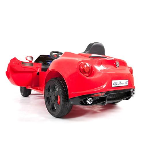 Elbil Alfa Romeo 4C 12V - Röd