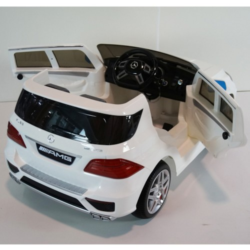 Elbil Mercedes ML63 - Vit