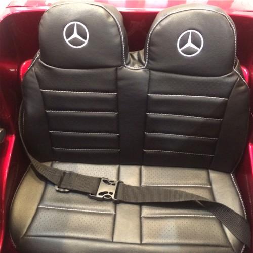 Elbil Mercedes GL63 12V - Rubinröd