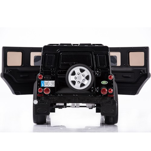 Elbil Land Rover Defender 12V - Svart