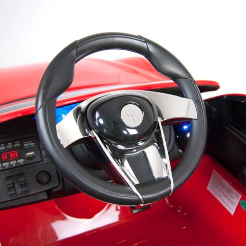 Elbil Maserati Alfieri Concept 12V - Svart