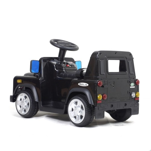 Elbil Land Rover 6V - Svart