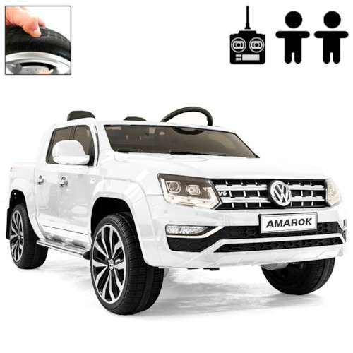 Elbil VW Amarok 4Motion Media Edition - Vit