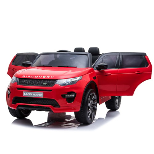 Elbil Land Rover Discovery Sport - Röd