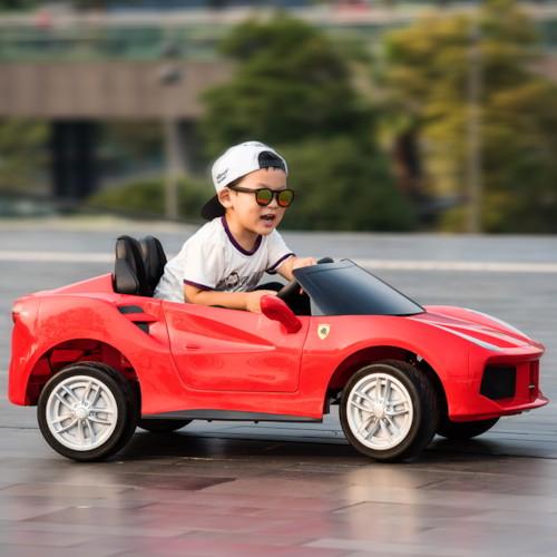 Elbil California Roadster 12V - Röd
