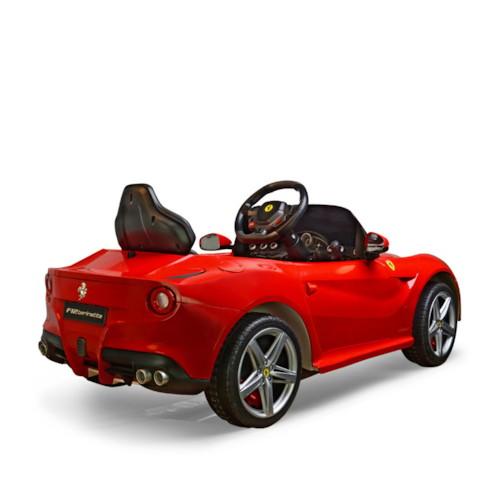 Elbil Ferrari 6V - Röd