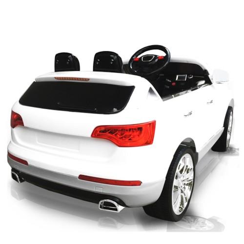 Elbil Audi Q7 - Vit