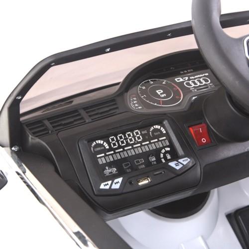 Elbil Audi Q7 12V - Blå