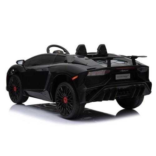 Elbil Lamborghini Aventador 12V - Svart