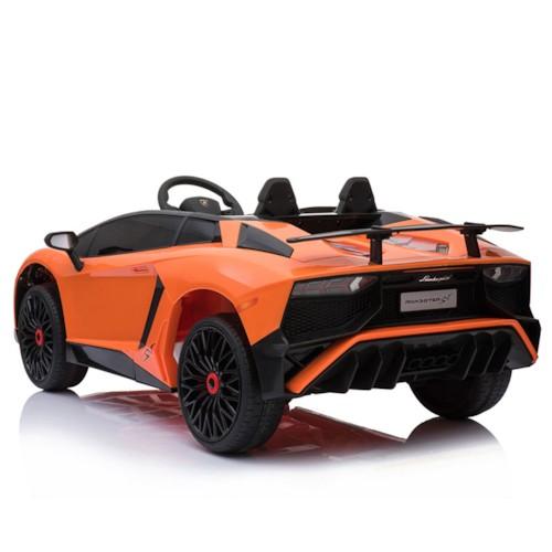 Elbil Lamborghini Aventador 12V - Orange