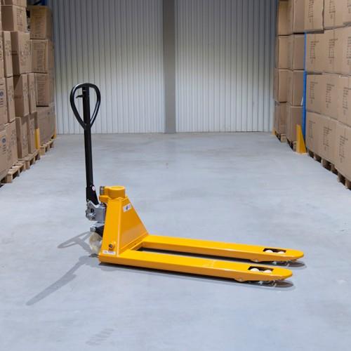 Pallyftare Duo Quick-lift med våg - 2500KG