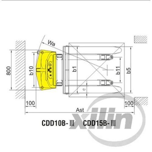 Batteristaplare BS-30 - Lyfthöjd 3M