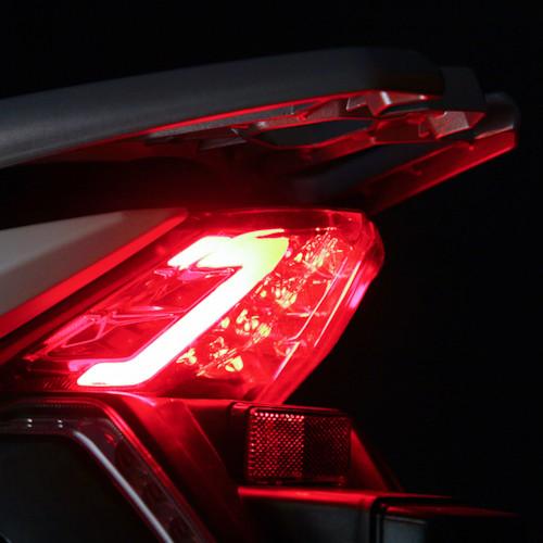 Elmoped Evolite E3 1000W Klass II - Svart/röd