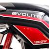Elmoped Evolite E3 1000W Klass II - Vit/röd