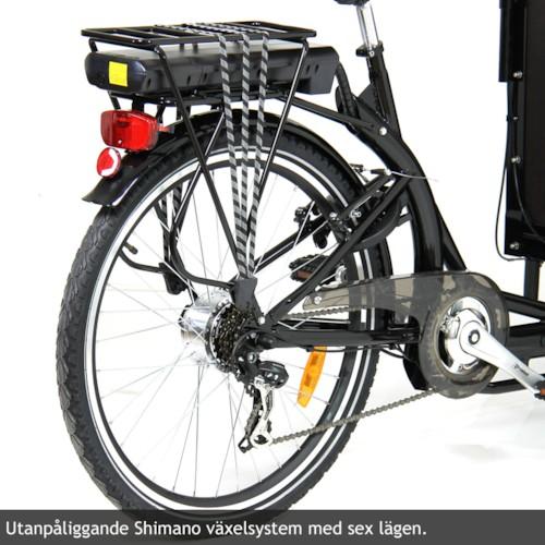 Elcykel Lådcykel EvoBike Cargo 250W