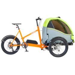 Elcykel Lådcykel EvoBike Duo