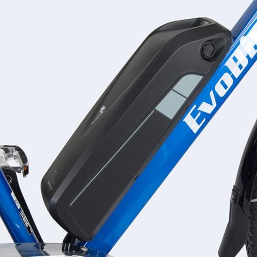Elcykel EvoBike SPORT-7 250W 2017-2018 - VIT/BLÅ, dam
