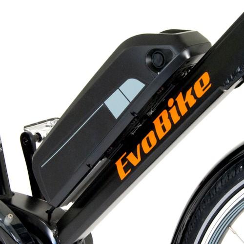 Elcykel EvoBike SPORT-8 Mid-Drive 250W, 2018 - SVART, dam
