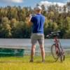 Elcykel EvoBike SPORT-8 500W 2017-2018 - SVART/RÖD, dam