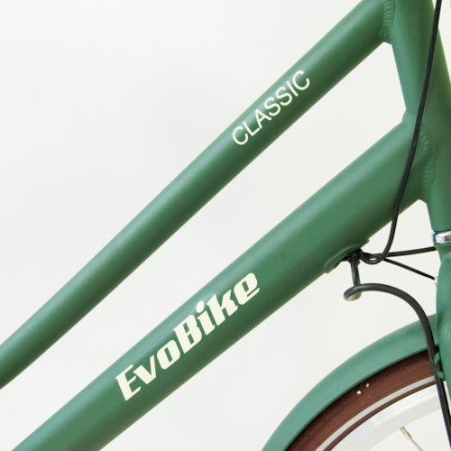 Elcykel EvoBike CLASSIC-3 250W 2017-2018 - OLIVGRÖN, dam