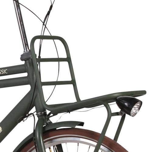 Elcykel EvoBike CLASSIC-7 250W 2017-2018 - Bronsbrun, herr