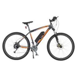 Elcykel EvoBike XRE 250W - ANTRACIT/ORANGE