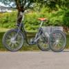 Trehjulig Elcykel Evobike Elegant 24 tum 250W - Svart