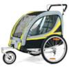 SunBee Promenad med barnvagnskit - Svart/Gul