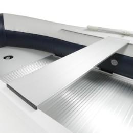 Extra bänkskiva aluminium, Seabird 430 - 120 cm