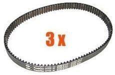 Drivrem HTD405-3M-12 3-pack