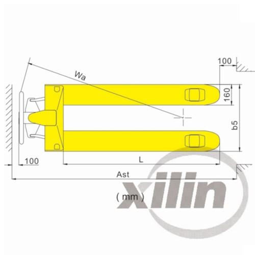 Palldragare Xilin BFC6-III - 2000KG, CE